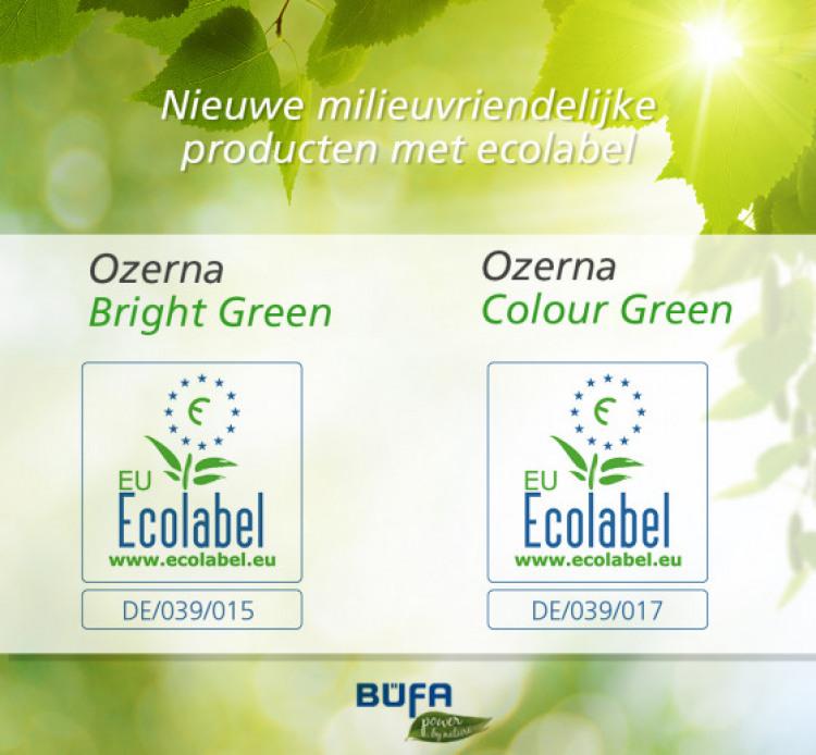 Bufacare blijft innoveren en bewust kiezen voor milieuvriendelijke oplossingen!